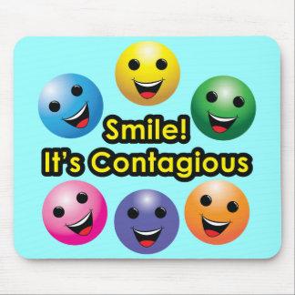¡Sonrisa! Su contagioso Tapetes De Ratones
