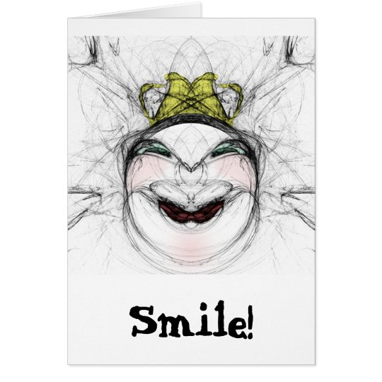 ¡Sonrisa! Tarjeta
