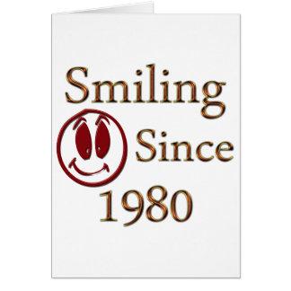 Sonrisa Tarjeta De Felicitación