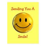 Sonrisa Tarjeta Postal
