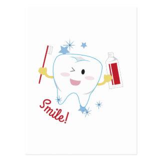 ¡Sonrisa! Tarjeta Postal