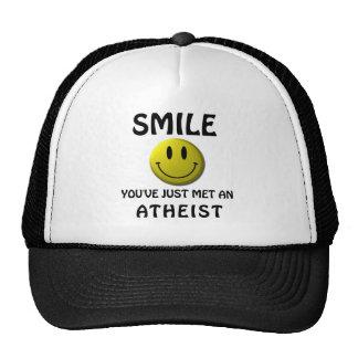 SONRISA, usted acaba de encontrar a un ateo Gorro