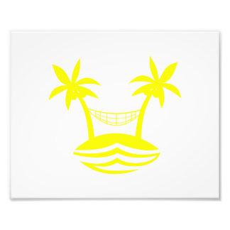 sonrisa yellow.png de la playa de la hamaca de la  fotografía