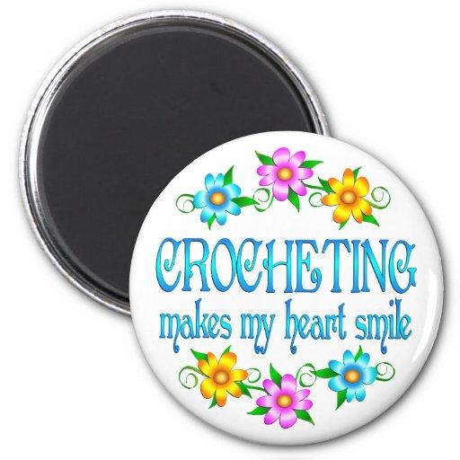 Sonrisas Crocheting Iman De Frigorífico