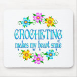 Sonrisas Crocheting Tapetes De Ratones