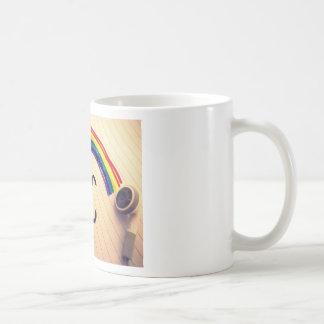 Sonrisas de la música tazas de café