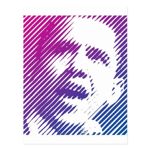 Sonrisas de Obama Tarjetas Postales