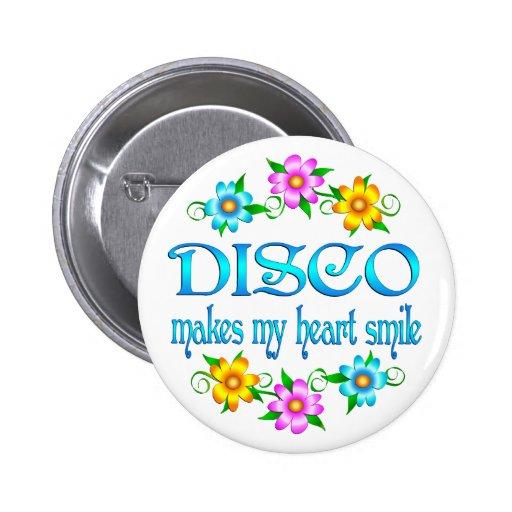Sonrisas del disco pin