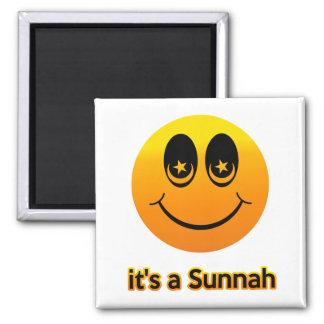 Sonrisas musulmanes imán cuadrado