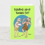 "Son's 50th Birthday Card<br><div class=""desc"">Funny 50th Birthday Card for Son from Dad</div>"