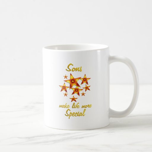 Sons are Special Coffee Mugs