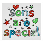 Sons are Special Print