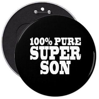 Sons Birthday Parties : 100% Pure Super Son Pin