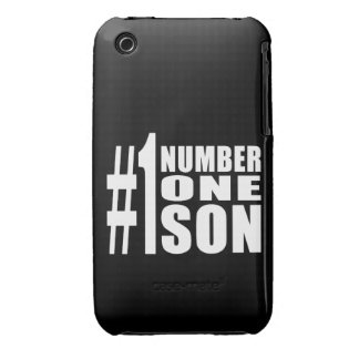 Sons Birthdays Gifts : Number One Son iPhone 3 Case-Mate Case