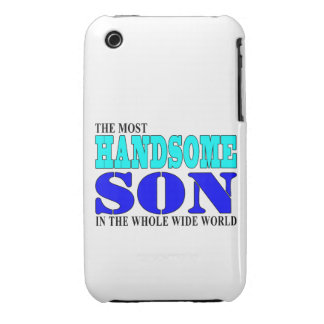 Sons Birthdays Parties Christmas : Handsome Son iPhone 3 Cover