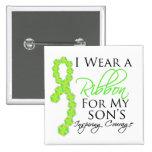 Son's Inspiring Courage - Lymphoma Pin