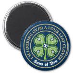 Sons of Ben - Four Leaf Clover Magnet