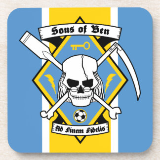 Sons of Ben - Plastic Coaster Set