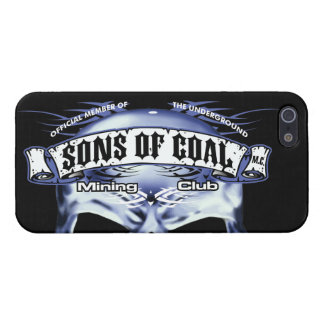 SONS OF COAL MINING CLUB COVER FOR iPhone SE/5/5s
