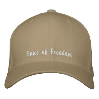 Sons of Freedom Embroidered Hats