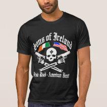 SONS of IRELAND Irish Blood / American Heart T-Shirt