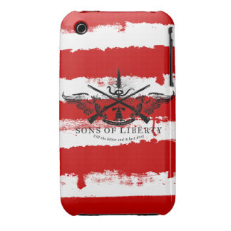 Sons of Liberty Case iPhone 3 Case-Mate Case