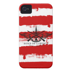 Sons Of Liberty Case at Zazzle