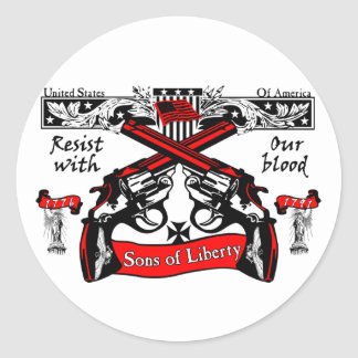 Sons Of Liberty Classic Round Sticker
