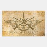 Sons of Liberty Rectangular Sticker