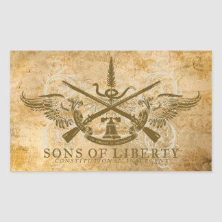 Sons of Liberty Rectangular Sticker