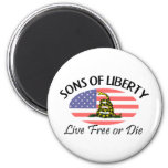 Sons of Liberty Refrigerator Magnets