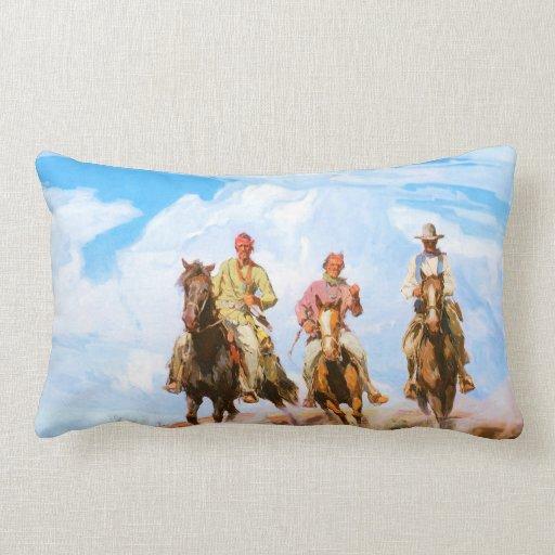 Sons of the Desert - American MoJo Pillow