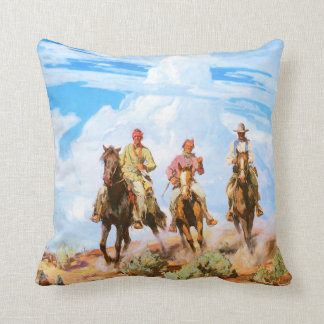 Sons of the Desert, by Carl Oscar Borg Pillow