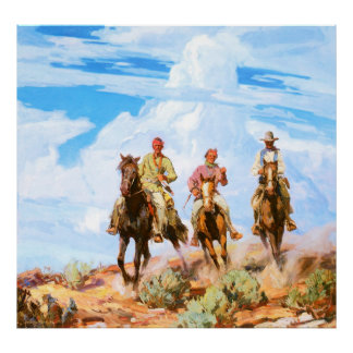 Sons of the Desert, by Carl Oscar Borg Poster