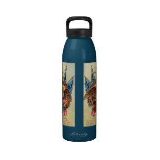 Sons of Veterans Patriotic Water Bottle
