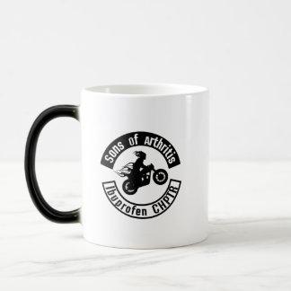 Sons With Arthritis - Arthritis Awareness Magic Mug