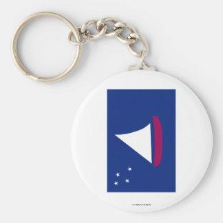 Sonsorol Flag Keychain