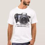 Sony, advirtiendo: Tengo una cámara y sé H… Playera