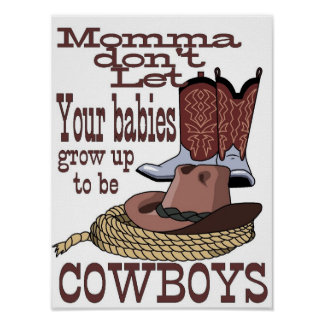 sony atv cowboys poster