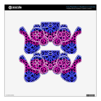Sony PlayStation Indian Style PS3 Controller Decal
