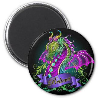 Sonya Believe Rainbow Dragon Magnet