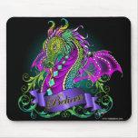 Sonya cree el dragón Mousepad del arco iris Tapete De Ratón