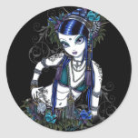 """Sonya"" Tribal Fusion Belly Dancer Stickers"