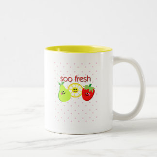 soo fresh Two-Tone coffee mug