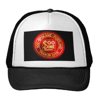 Soo Line Railroad Sign Hat