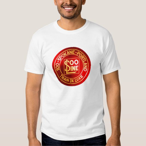 Soo Line Railroad Sign T-Shirt