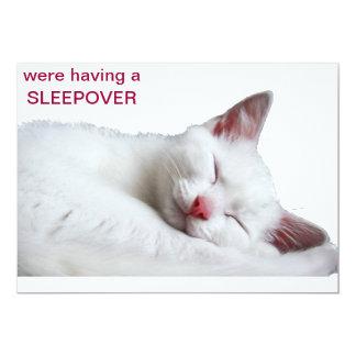 SOO SOÑOLIENTO - el Sleepover invita Invitación 12,7 X 17,8 Cm