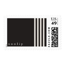 Soolip's Holiday Stripes Postage