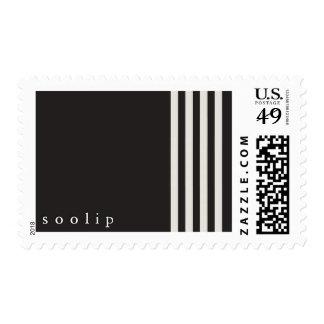 Soolip's Holiday Stripes Stamp