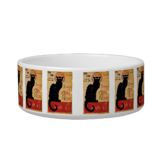 """""""Soon and the Black Cat Tour by Rodolphe Salis"""" Bowl"""
